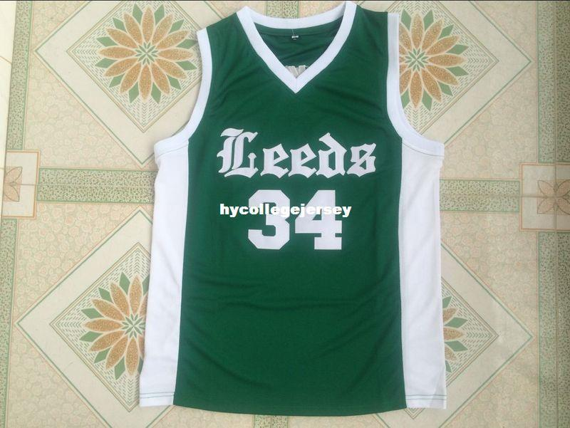 23bfa45e1a9 2019 #34 CHARLES BARKLEY LEEDS HIGH SCHOOL Basketball Jersey Sewn Stitched  Custom Any Number And Name Jerseys XS 6XL Vest Jerseys Ncaa From Qiuyi2018,  ...
