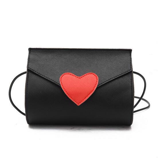 dda5ca57649a 2019 Summer Fashion New Handbag High Quality Pu Leather Women Bag Sweet  Lady Heart Envelope Bag Shoulder Messenger Bags Phone Bag Leather Backpack  Clutch ...