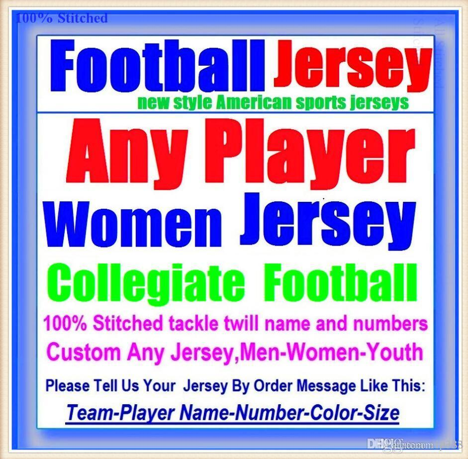 All Stitched Custom american football jerseys Tennessee Denver college authentic cheap baseball basketball mens womens youth USA 4xl shop