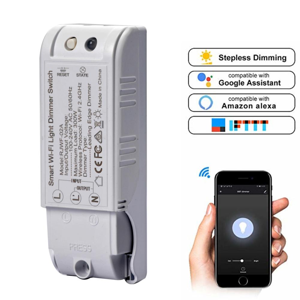 20216e74ff88 Wireless Smart Light Dimmer In Wall Power Switch Control WiFi Light Switch  Work with Alexa Google Graffiti Scheme of Smart Life