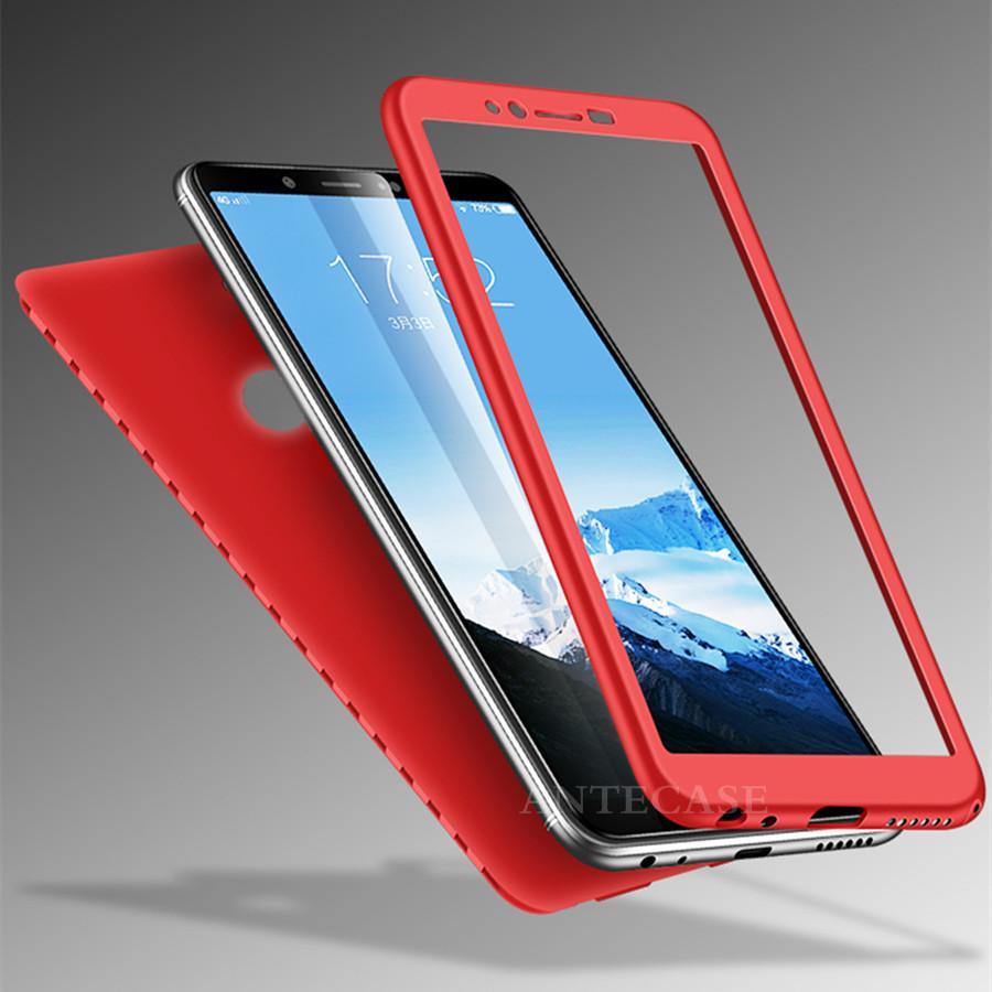 Xiaomi Redmi Note 5 Case for Xiaomi Redmi S2 4X 5A 5 Plus 6 Pro Note 6 5 4  5A A2 Pocophone F1 Cover Cute 360 Silicone Phone Case