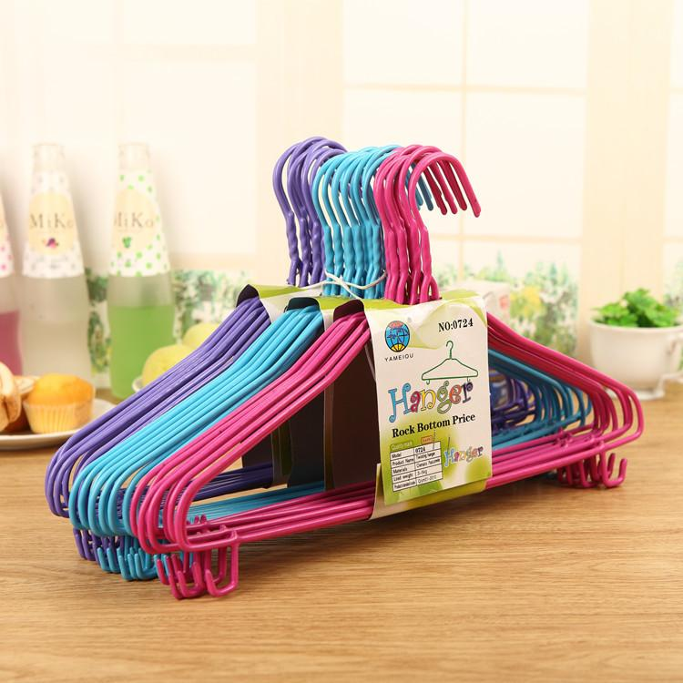 Large hook jinsu hangers adult clothes-horse trousers rack and antiskid hook hangers