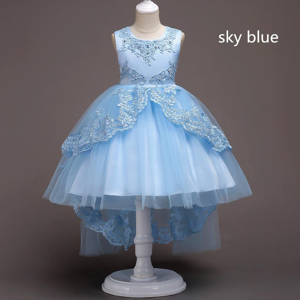 4f36584a916 Teal And Purple Flower Girl Dresses