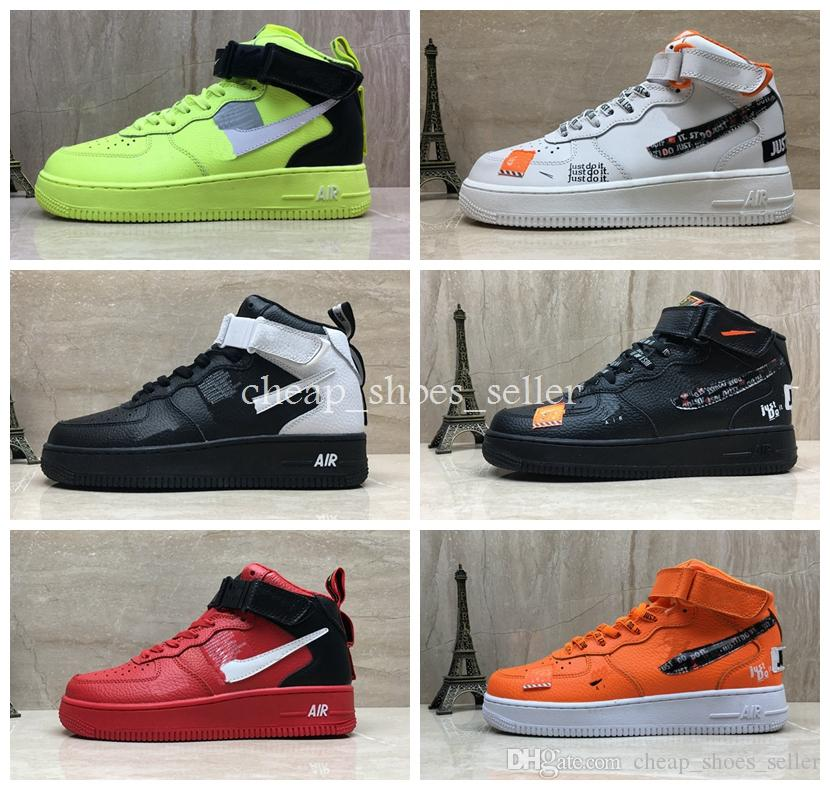 e4976c7edb5 Nike Air Force One Shoe Calzado De Correr Para Hombre 1 Zapatillas Altas  Forces Para Hombre Zapatillas De Deporte Patineta Deportiva Un Calzado  Deportivo ...