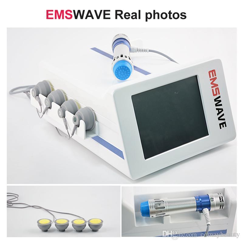 TOCH portátil extracorpórea por ondas de choque terapia de la onda de choque de la máquina ED Tratamiento / EMS slimulation ondas de choque para adelgazar la fisioterapia