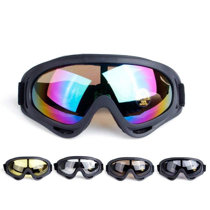 New Outdoor Winter Sport Black Cycling Skiing Snowboard Ski Goggles In Mountain Glasses Snowmobile Skiing Snow Glasses Skiing Eyewear