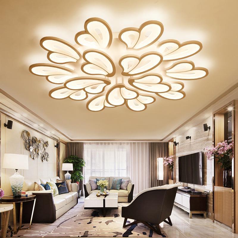 2019 Simple Modern Living Room Lighting Atmosphere Home Warm Nordic ...