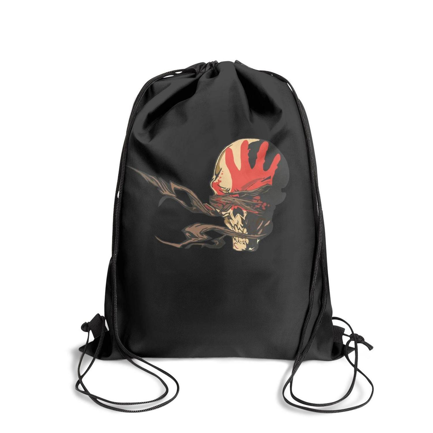 Drawstring Sports Backpack music five finger death punchfashion durable limited edition Travel Fabric Backpack