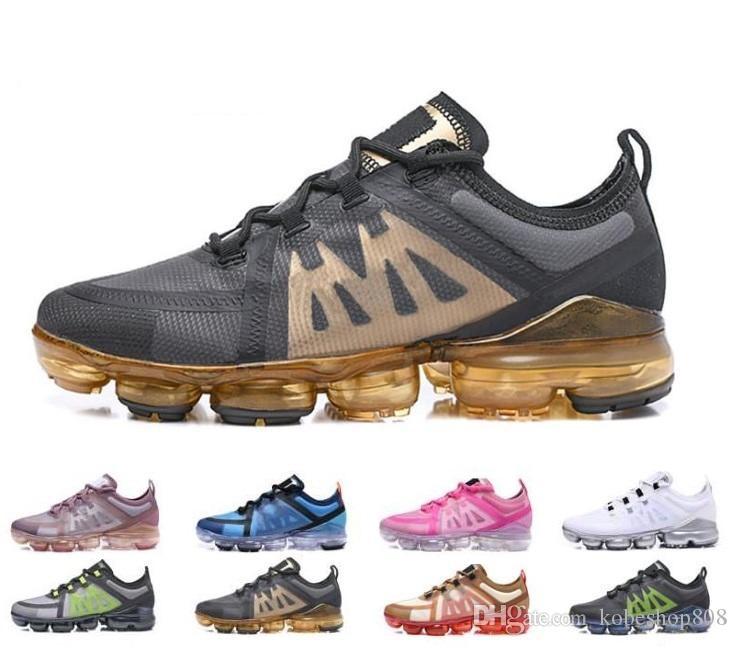 NIke air max vapormax 2019 Run UTILITY Laufschuhe für Herren dreifach weiß schwarz REFLECTIVE Medium Olive Burgundy Crush Designer Sneaker für Herren