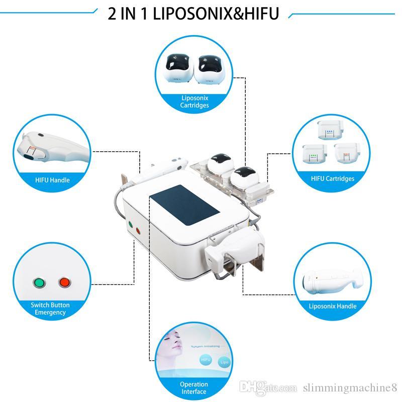 Liposunix 바디 셰이퍼 슬리밍 Liposonix 체중 감량 슬리밍 기계 Hifu 슬리밍 홈 지방 제거 초점 초음파 바디 뷰티 머신