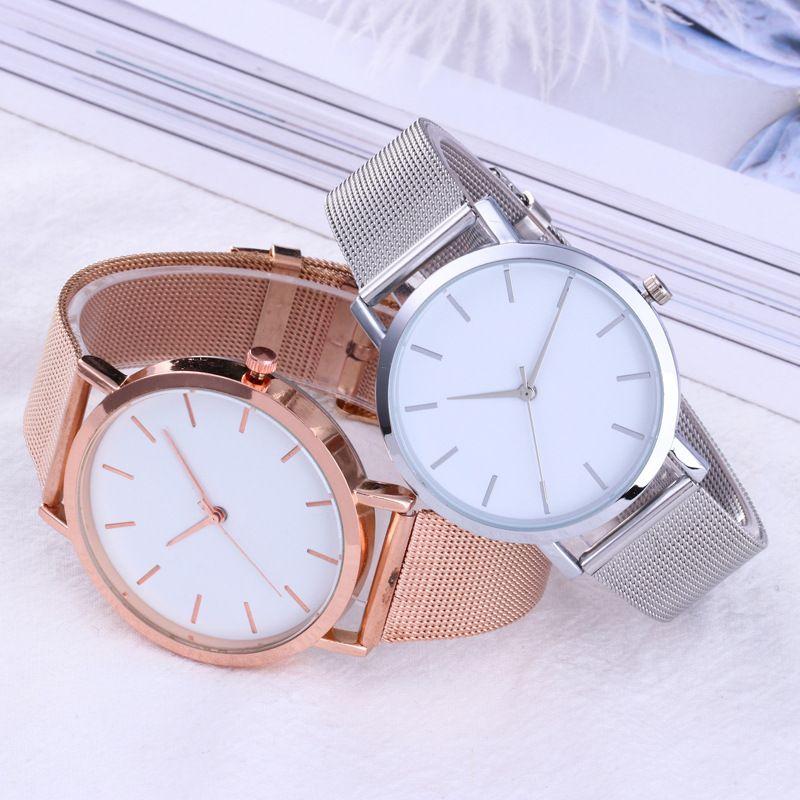 Fanala Watch Women Men Fashion Pointer Display Round Shape Wrist Quartz Unisex Watches Relogio Masculino Feminino Reloj Mujer Quartz Watches