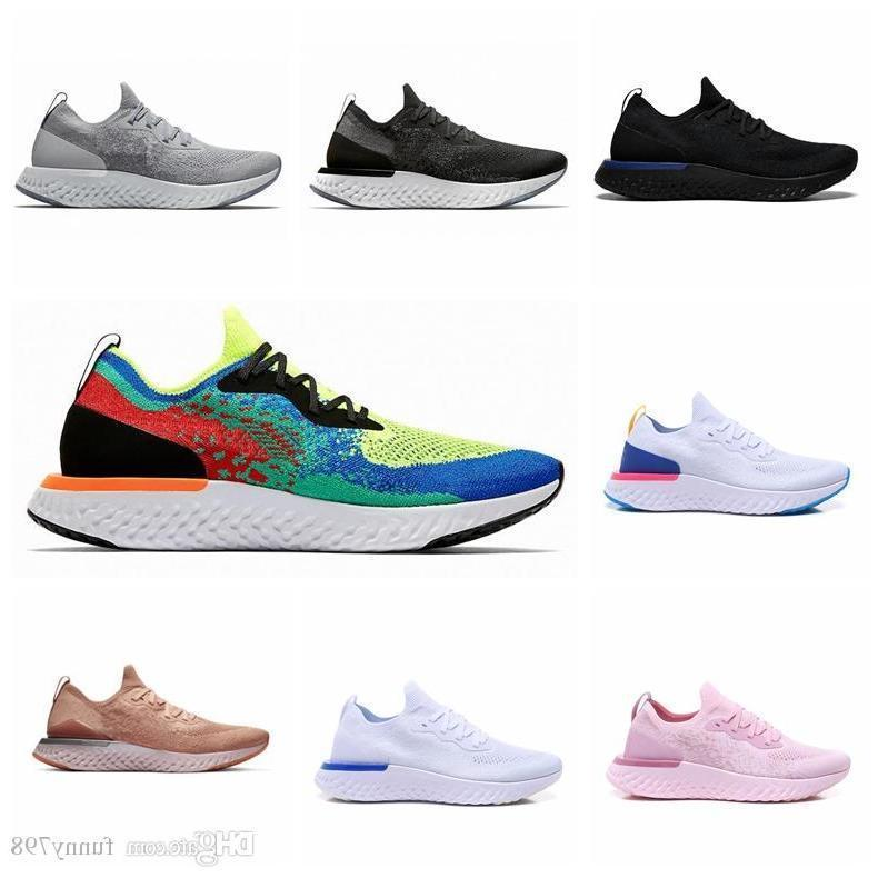 Epic React V2 Designer Men Women Fly Shoes Beach Knit Sprite Belgium Pe Dusk To Dawn Betrue Oreo Gs Running Sport Sneaker 36-45