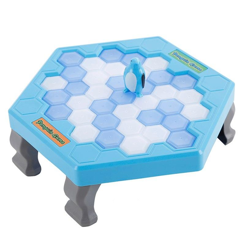 Blocks Board Game Save Penguin Icebreaker Demolition Wall Chisel Ice Toys Early Childhood Education Desk Puzzle Game Beat Penguins