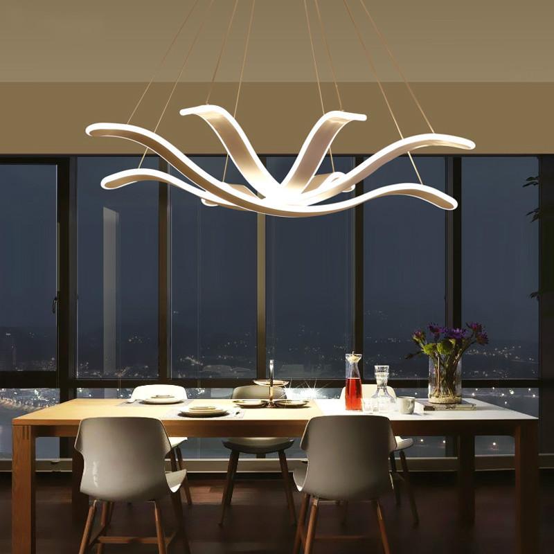 Acquista Moderne Lampade A Sospensione A LED Soggiorno Camera Da ...
