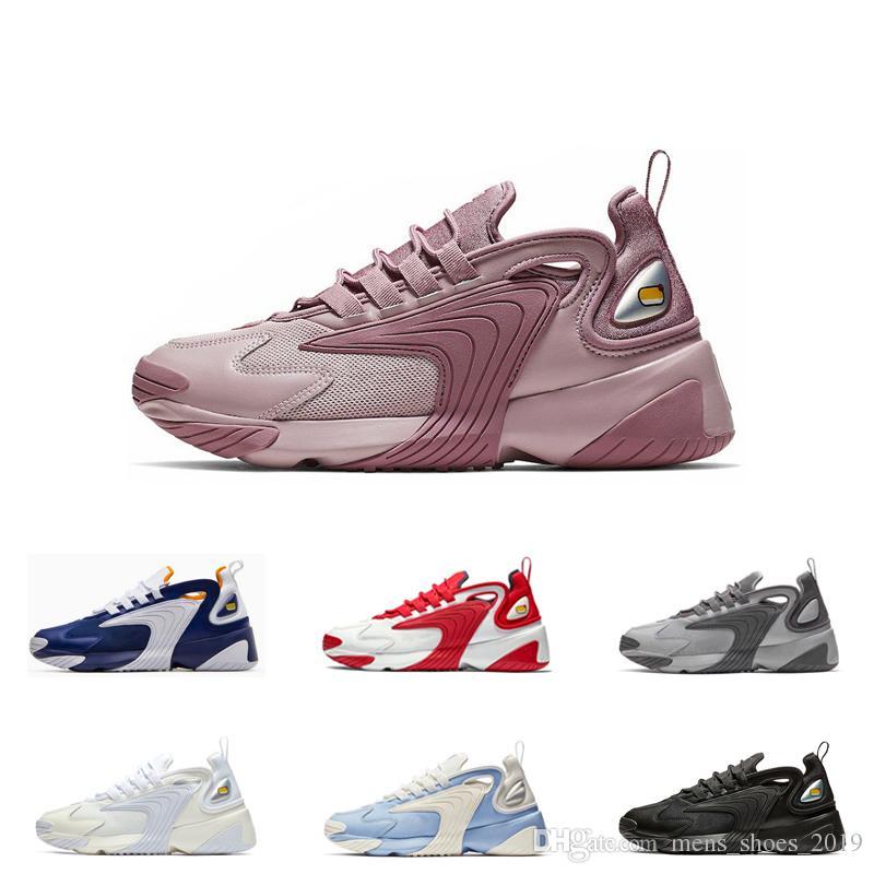 M2k Royal Blanco Púrpura Running Mujeres Nike Zoom Zapatillas Para Triple Hombres De Deporte Cremoso 2k Tekno Blue Negro Yb6gv7fy