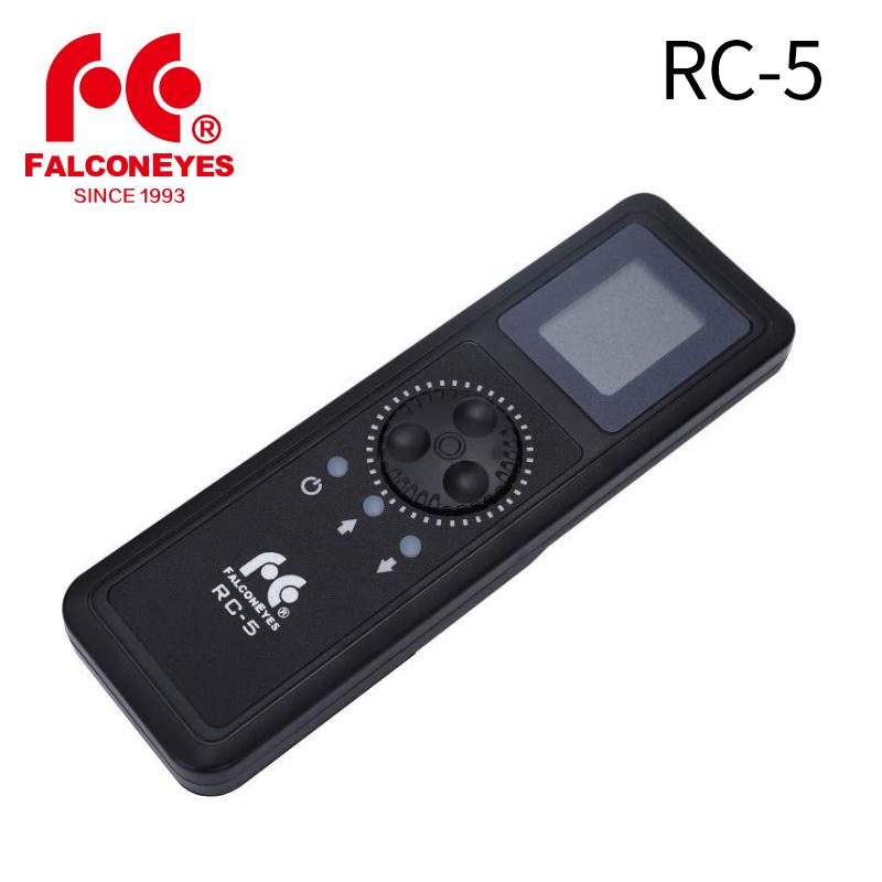 Falcon Eyes Remote Control RC-5 For Led RGB Camera Video Light RX-748/ 736/  718 Or Delsar Series Photographic Lights
