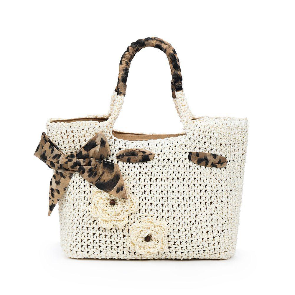 733dbb702c Women Bowknot Straw Woven Bag String Crochet Summer Beach Handbag Fbe3  Women Bag Luxury Bags Handbags Wholesale From Fishmen03