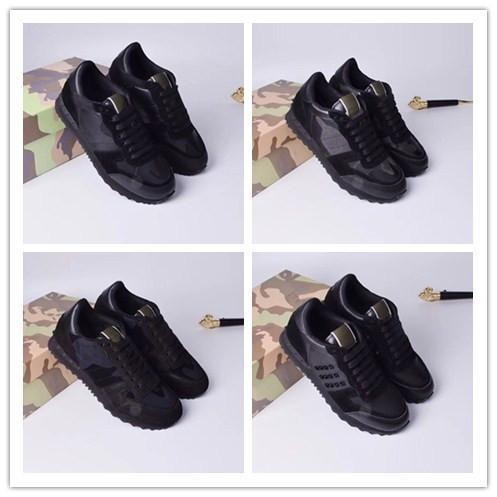 Chaussures causales Top Designer Arena Sneakers Chaussures Flats Mode véritable Chaussures de marche en cuir, robe plein air Formateurs Party Chaussures hy189605