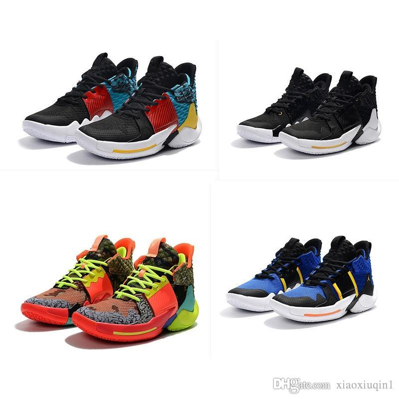 low priced b06a7 97202 Mens Lebron 3 basketball shoes for sale retro Russell Westbrook Oreo youth  kids boys AJ 11 boots sneakers with original box size 7-12