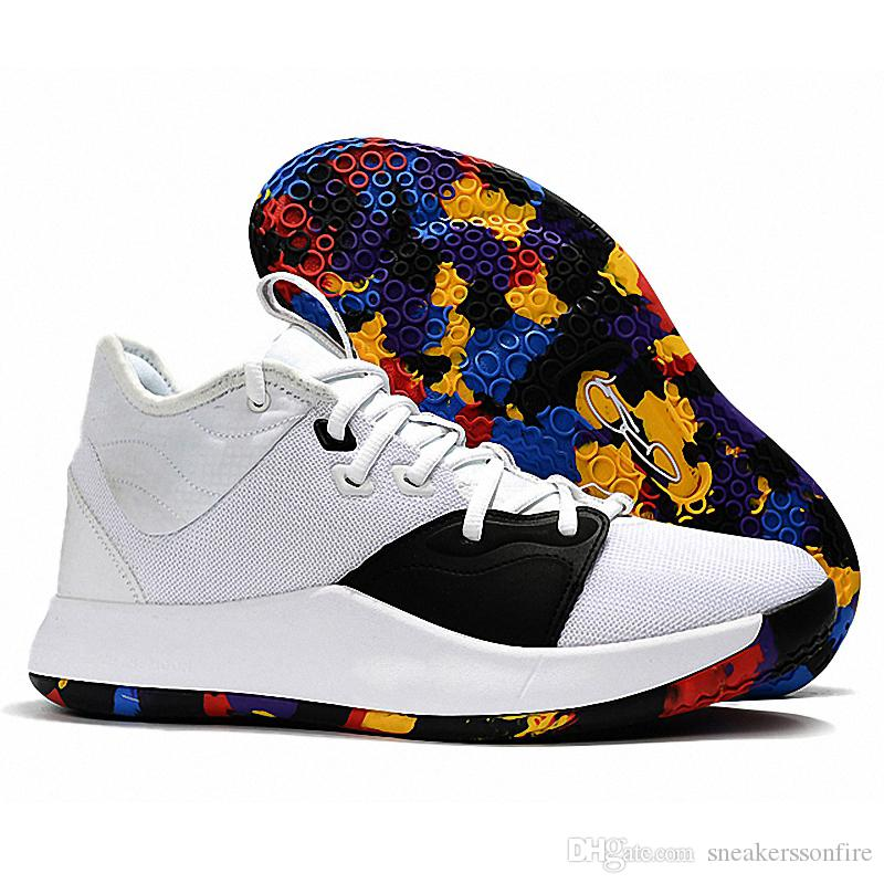4bde00a74491d2 2019 2019 New Paul George Pg 3 White Multi Color For Cheap Mens
