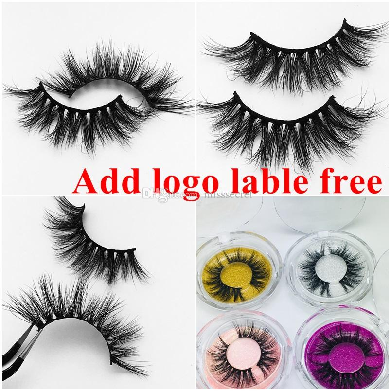 b52fe2efb39 25 Mm Long 3D Mink Eyelashes Private Label Free Mink Eyelash Extensions  Dramatic Thick Mink Lashes Cruelty Free Fluffy Natural False Lashes Natural  False ...