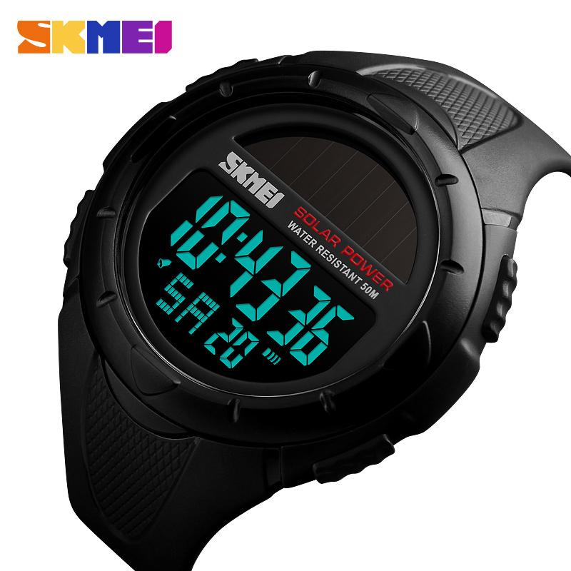 Skmei Herren Sport Uhren Top-marke Luxus Dive Digitale Led Military Watch Männer Mode Lässig Elektronik Armbanduhren Uhr Männer Uhren