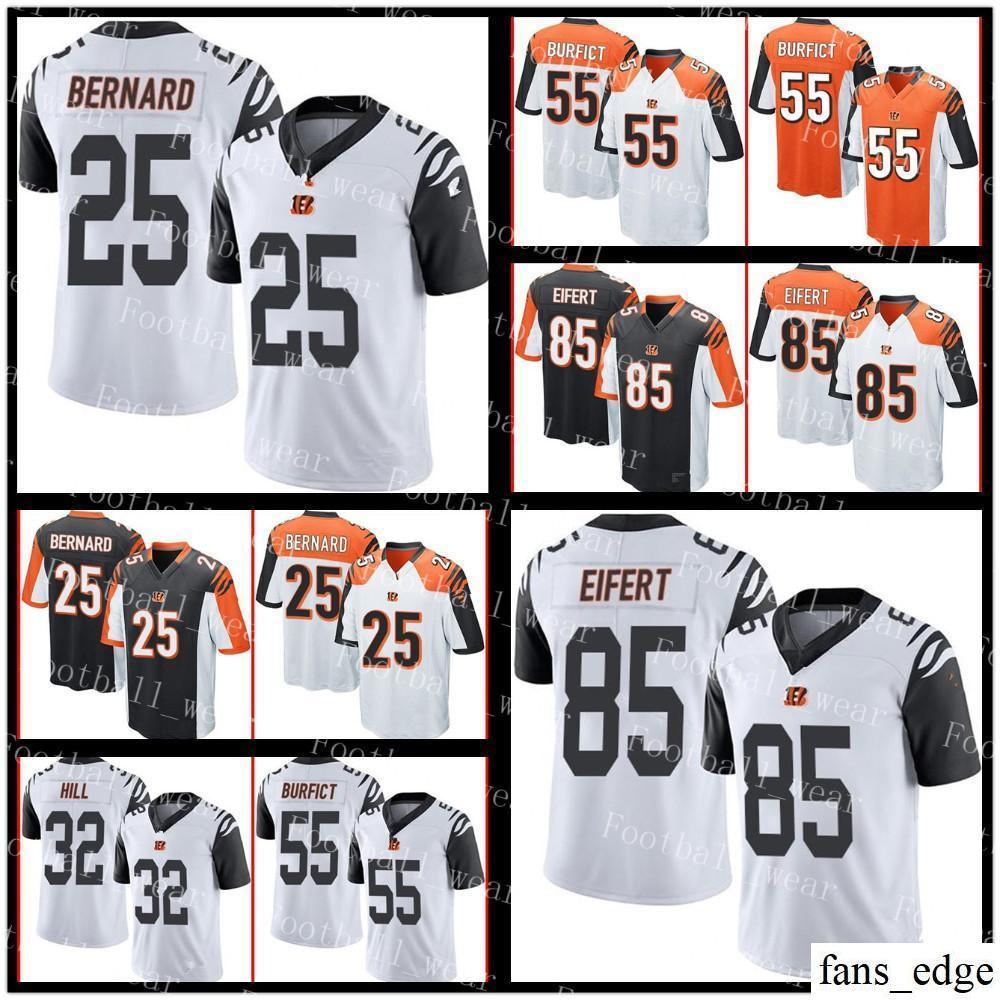 bbffde36 Cincinnati Jersey 85 Tyler Eifert 58 Rey Maualuga 55 Vontaze Burfict 32  Jeremy Hill 27 Dre Kirkpatrick Bengals 25 Giovani Bernard Football