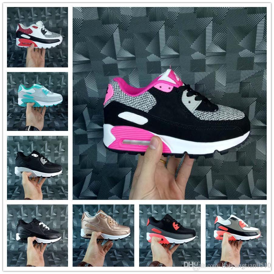 Zapato Airmax Zapatillas Para Ortopédicos Deportes Entrenadores De Niños Deporte Infant Max Air Presto Jóvenes 90 Nike Ii HDWY2EI9