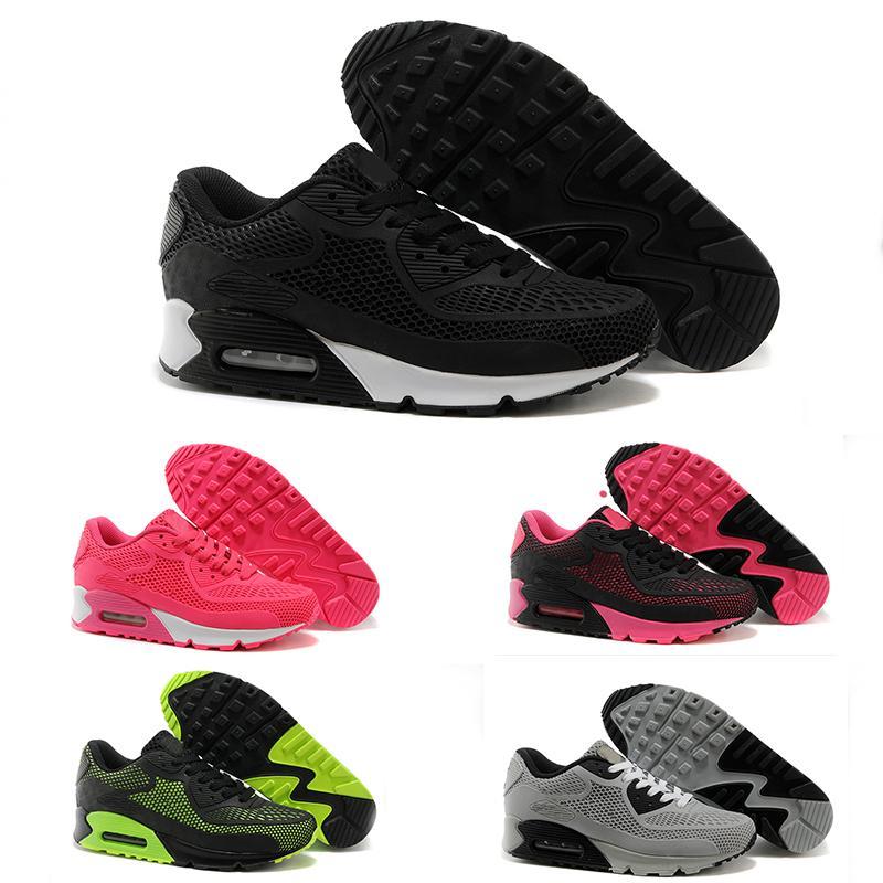 Nike Air Max 90 2019 Haute Qualité Chaussures de sport Coussin Alr 90 KPU Hommes Classique 90 Chaussures de sport Baskets Sneakers Homme Marche