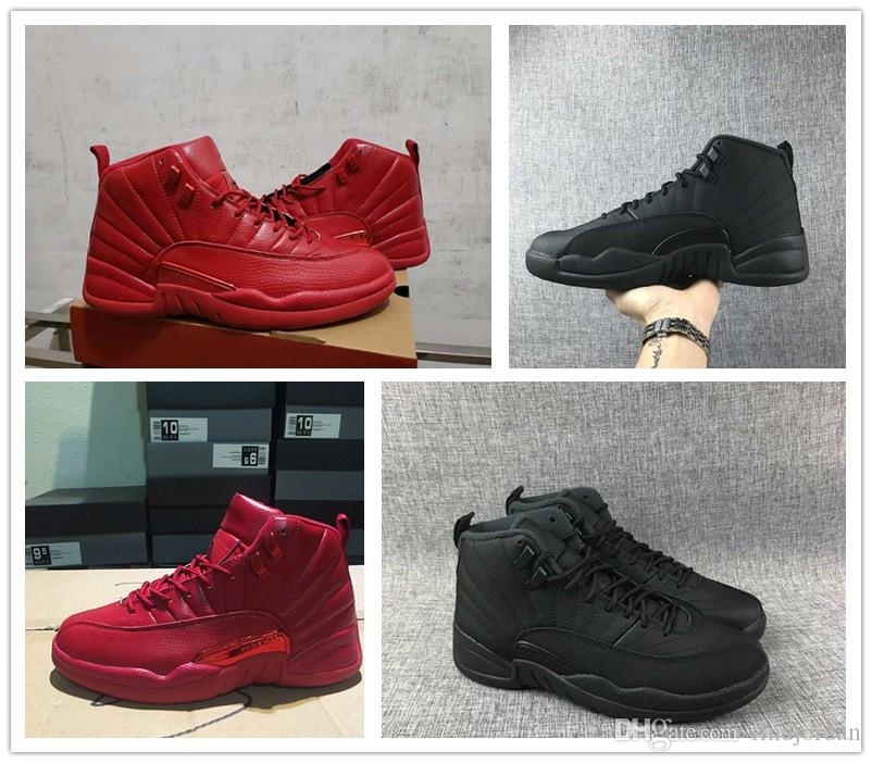 2f8255124a632 Mens 12 Bulls Gym Red WNTR Winterized Basketball Shoes Chicago Black ...