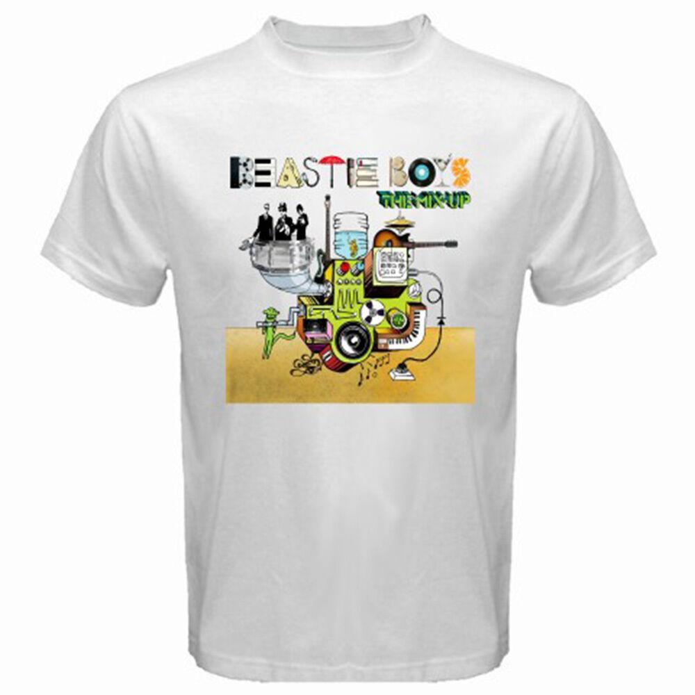 dc311ecdf New BEASTIE BOYS The Mix Up Album Hip Hop Rap Men's White T-Shirt Size S to  3XL Men Women Unisex Fashion tshirt Free Shipping black
