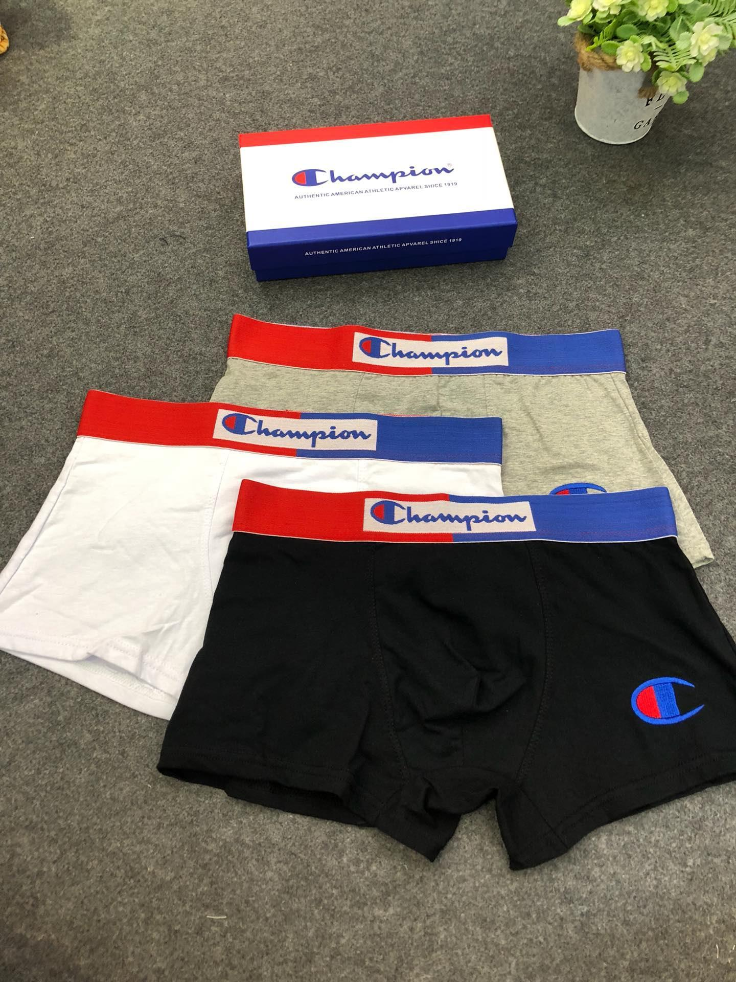 2019 Brand Design Men Underwear Boxers Letter Pattern Breathable Soft Cotton Underpants Tight Underwears For Men