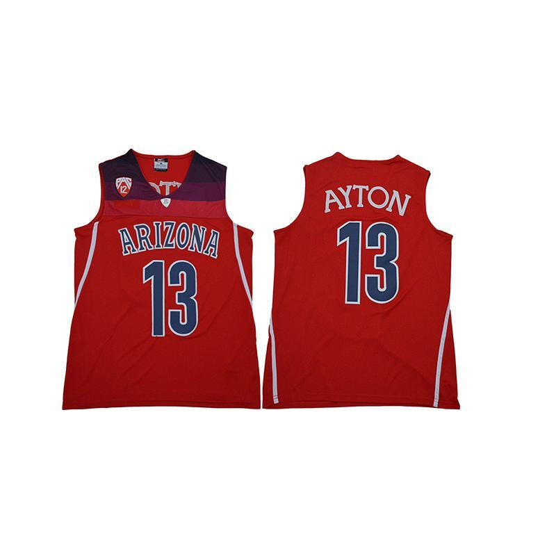 hot sale online 1376a 7c189 Mens DeAndre Ayton Jersey Arizona Wildcats College Basketball Jerseys High  Quality Stitched Name&Number Size S-2XL
