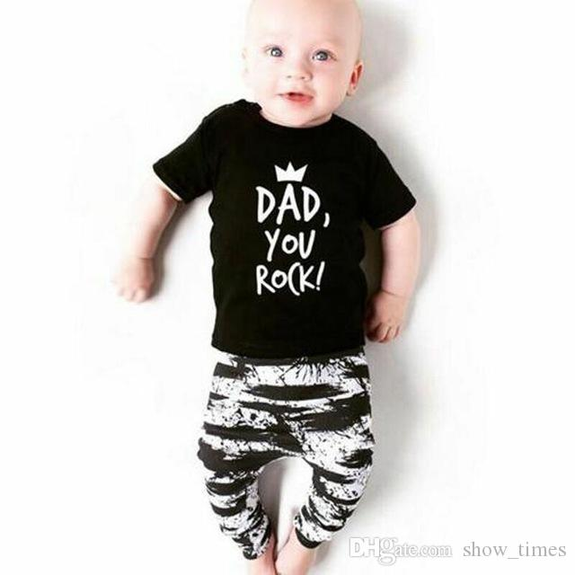 81bd29018b74 2019 New Brand Summer Cool Newborn Toddler Infant Baby Boys Clothes ...