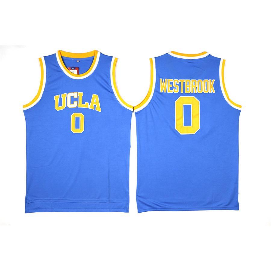 newest f9ac0 defa9 Herren Russell Westbrook Trikot Kollektion UCLA Bruins College Basketball  Trikots Hohe Qualität Genäht Name Nummer Größe S-2XL