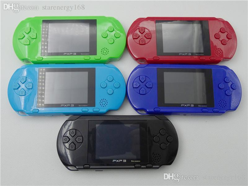 2018 Factory Wholesale PXP Games Console Handheld PVP Retro TV-Out Video Game Cartridges PXP Gaming Console B-ZY