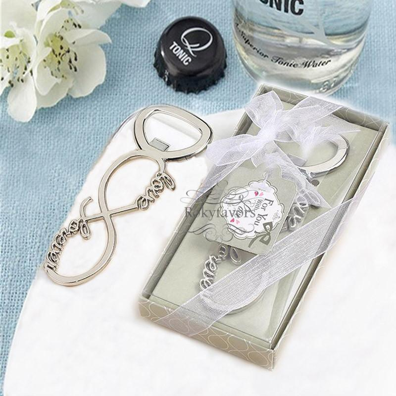 Love Forever Infinity Bottle Opener Bottle Opener Beaucoup Wedding