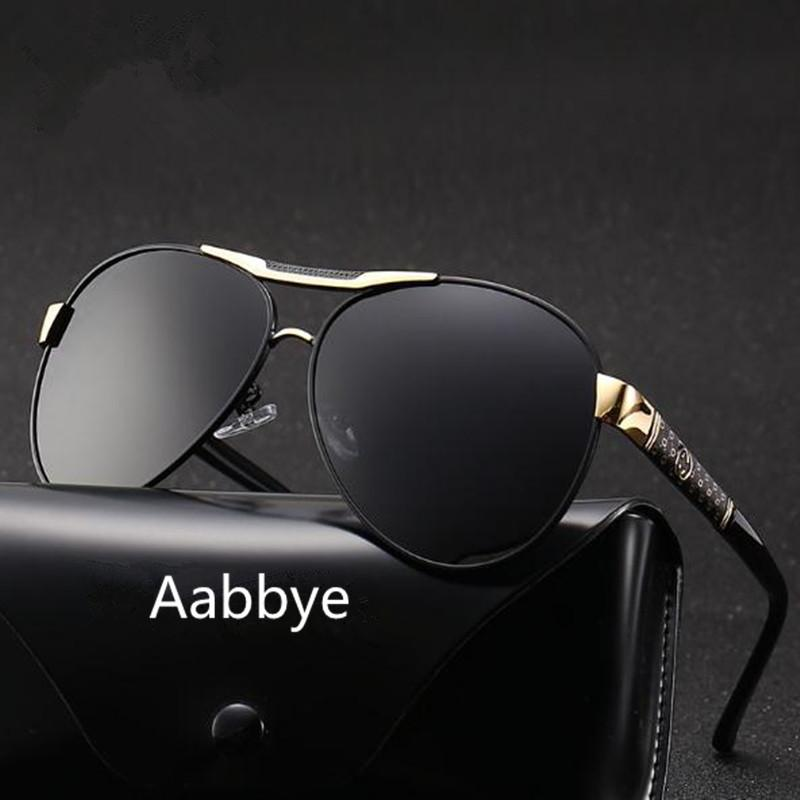d2d46d8a22 Aabbye Brand New Polarized Sunglasses Men Black Cool Travel Sun Glasses  Driving Male High Quality Fishing Eyewear Oculos Gafas Suncloud Sunglasses  Foster ...