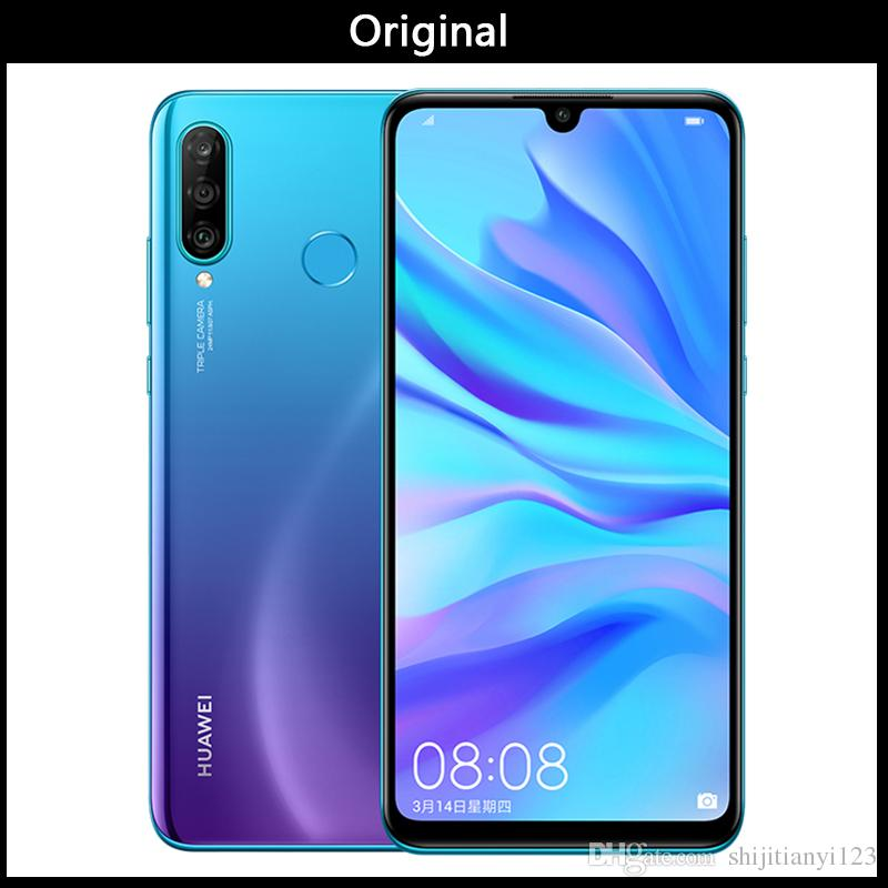 DHL New Huawei Nova 4e 4G LTE Mobile Phone 4GB RAM 128GB ROM Kirin 710 Octa  Core Android 6 15 Full Screen 32 0MP Fingerprint ID Cell Phone