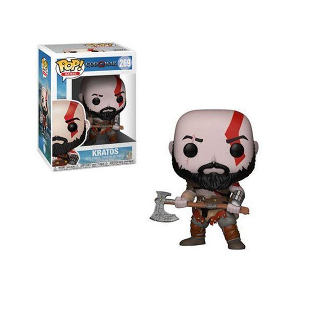 FUNKO POP New Style God of War Kratos Vinyl Action Figure brinquedos Collection Model toys for Children birthday Gift