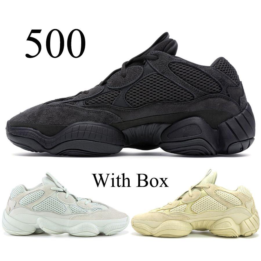 38d7d8499f8b4 Compre La Mejor Calidad 500 Zapatillas Para Correr Blush Utility Black  Desert Rat 500 Kanye West Hombre Mujer Diseñador Zapatillas De Deporte  Envío Gratis ...