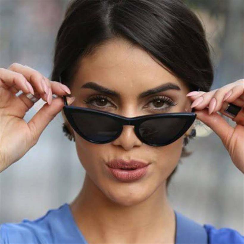 Compre XojoX Mulheres Cat Eye Sunglasses Moda 2019 Marca De Luxo Óculos De Sol  Designer De Óculos Vintage Senhoras De Óculos De Sol Amarelo UV400 De ... ff40f37a2b