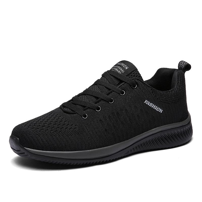2efa93a582f 2019 Spring Casual Shoes Men Breathable Plus Size Sneakers Men Comfortable  Fashion Shoes Casual Black Red Autumn Vegan Shoes Comfort Shoes From  Nevada