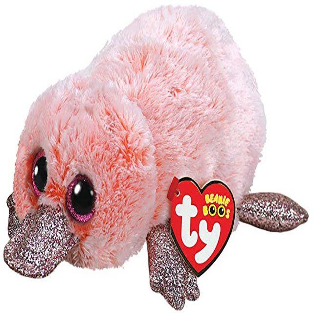 e553d87a45a 2019 Ty Beanie Boos 6 15cm Wilma Pink Platypus Plush Regular Soft Big Eyed  Stuffed Animal Collection Doll Toy With Heart Tag From Babymom
