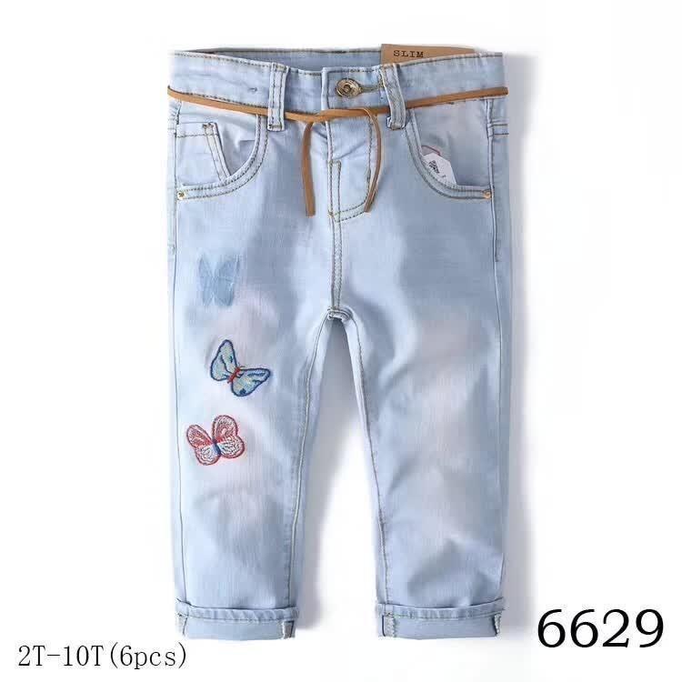 6c4c7f640 newborn baby boy denim children clothes Designer children's girls pant kids  print embroidery high quality fashion d-02 jeans cartoon