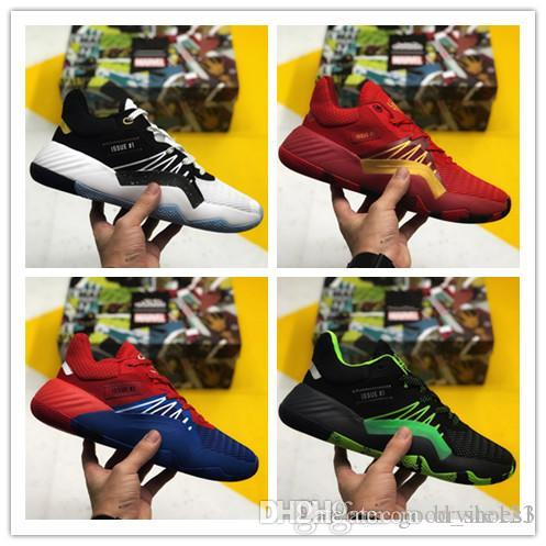 New Arrival 2019 D.O.N. Issue 1 Mens Basketball Shoes Men Donovan Mitchell 1s DM 45 Spida 1 Men Basketball Shoes Size EUR 40-46