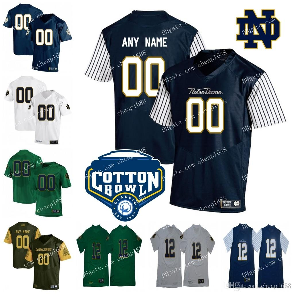 2019 Custom Mens Womens Kids Notre Dame Fighting Irish Shamrock Series  Stitched Any Name Any Number NCAA Cotton Bowl College Football Jerseys From  Cheap1688 ... 246d559e2