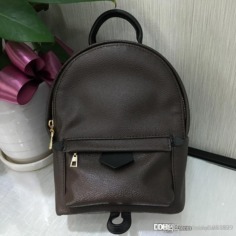 4dd8528a684 Women Fashion Genuine Oxidized Leather Palm Handbags Top Handle Crossbody  Classic Children Backpack Best Quality Shoulder Bag MINI M41562 Large  Handbags ...