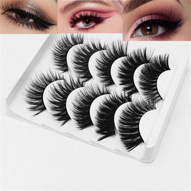9279402c557 NEW Crisscross Natural False Eyelashes Eyelash Extension 3d Mink Eyelashes  Fake Lashes Long Makeup For Beauty How Much Are Eyelash Extensions Lash  Extension ...