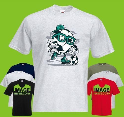 e304d31fbd6 Street Soccer Mens PRINTED T SHIRT Cartoon Football Sport Sports Game Play  Cap O Neck Fashion Printed Round Neck Man S Tshirt Tshirts From  Polotshirts